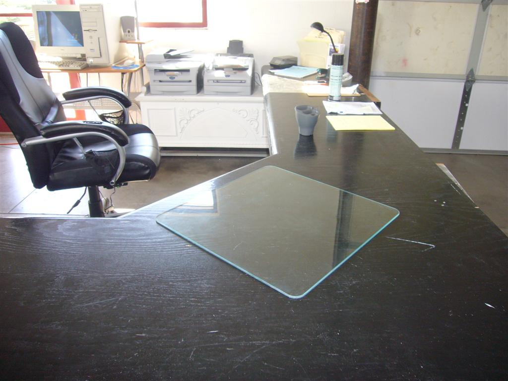 Desk Blotter Small Glass Desk Blotter ...