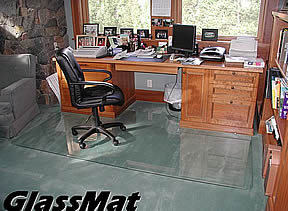 GlassMat Chair mats