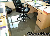 our custom size chair mats can be ordered in custom sizes shapes and
