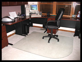 Office chair mats for carpets