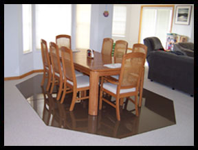 Dining Table Carpet Protector
