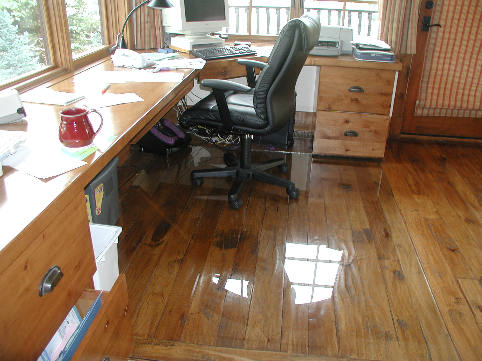 Desk Chairs For Wood Floors Transparent Floor Mats for Wooden