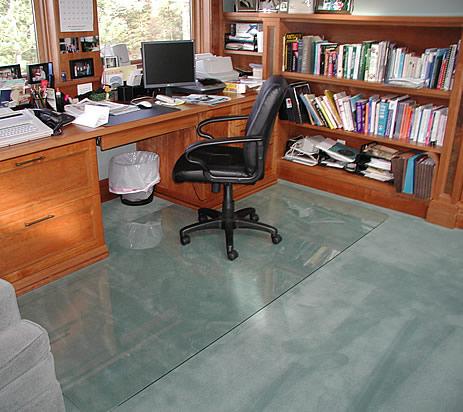 Delicieux GlassMat OFFICE CHAIR MATS