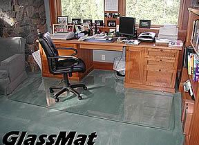 GlassMat Chair Mats
