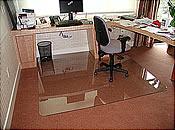 Charmant ... Custom Sized Office Chair Mats ...