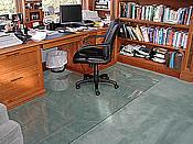 ... Custom Home Office Chair Mats