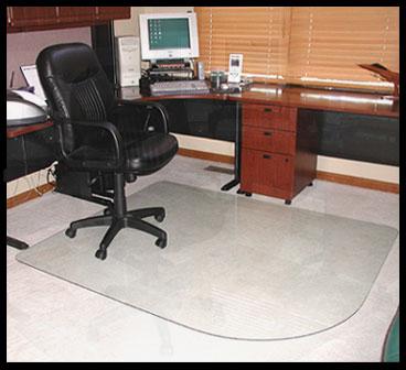 Glass Floor Mats And Chair Mats