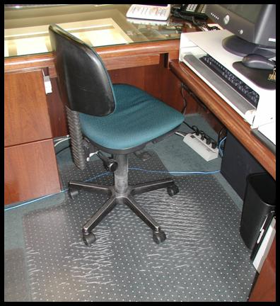 Office Chair Mats - Computer chair mat for carpet